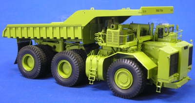 EMDB001 Terex Titan 1:87 Scale Brass Model